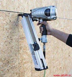 تمیز کاری دستگاه تفنگ میخکوب