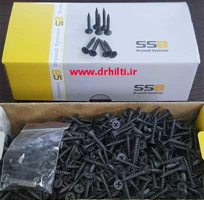 مزایا و ویژگی های پیچ سازه نوک تیز SSB